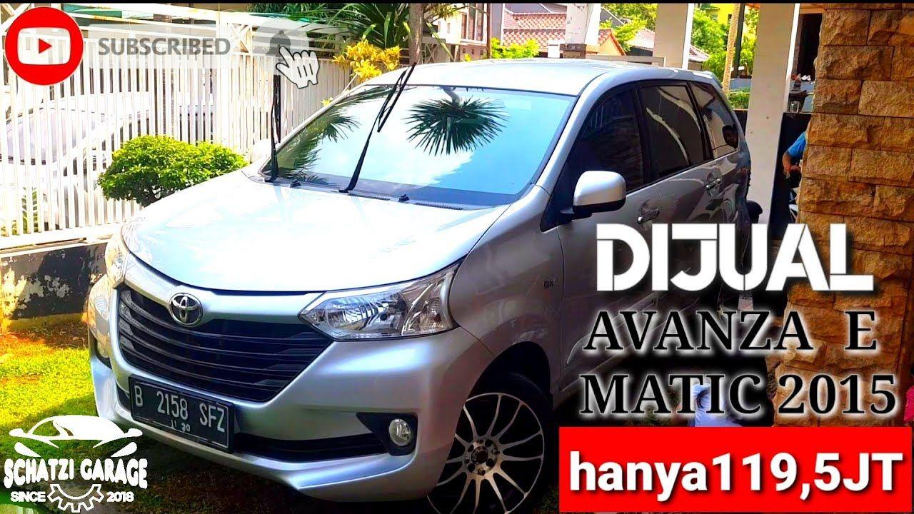 Jual Mobil Sejuta Umat Toyota New Avanza Barong Type E Matic 2015 Toyota Barong Suv Car