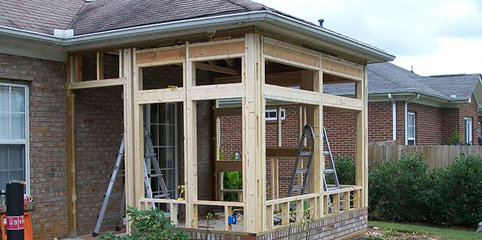 Tansom Windows For Porches | Sunrooms | Sunroom Additions | Greenville, SC