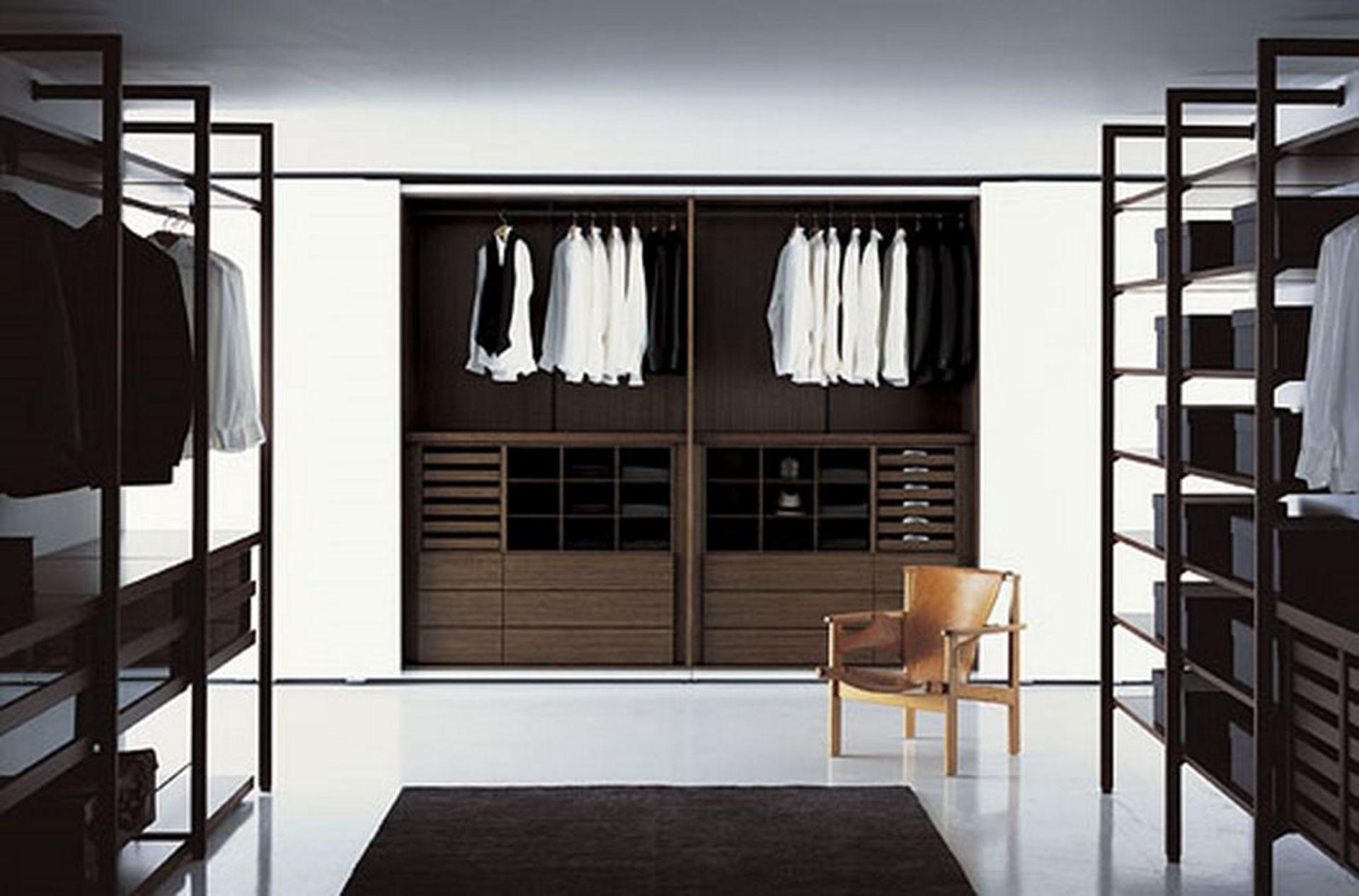 Image result for easy diy shelves for closet books worth for Closet modernos para hombres
