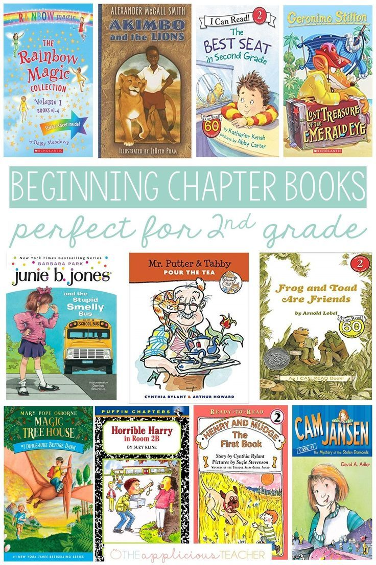 Chapter books perfect for 2nd grade 2nd grade chapter