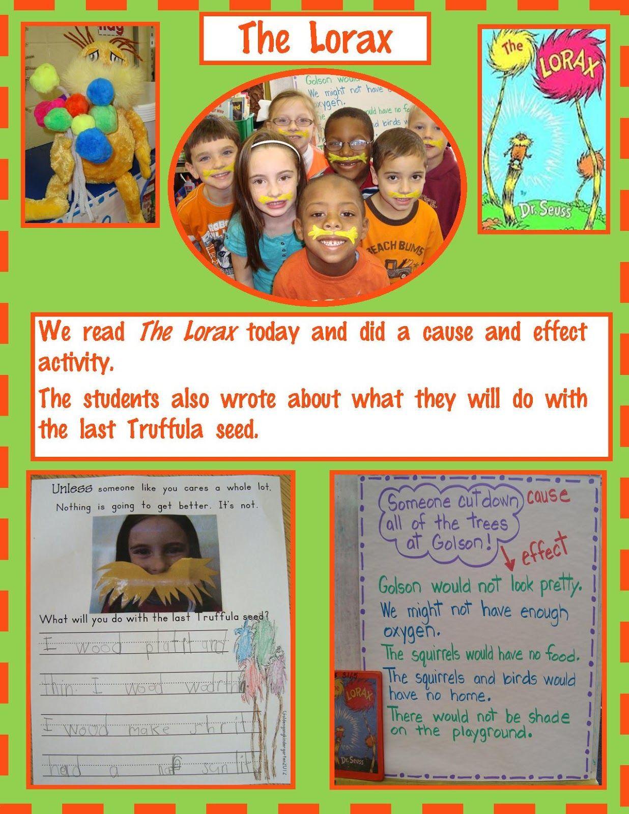 The Lorax And Math Freebie