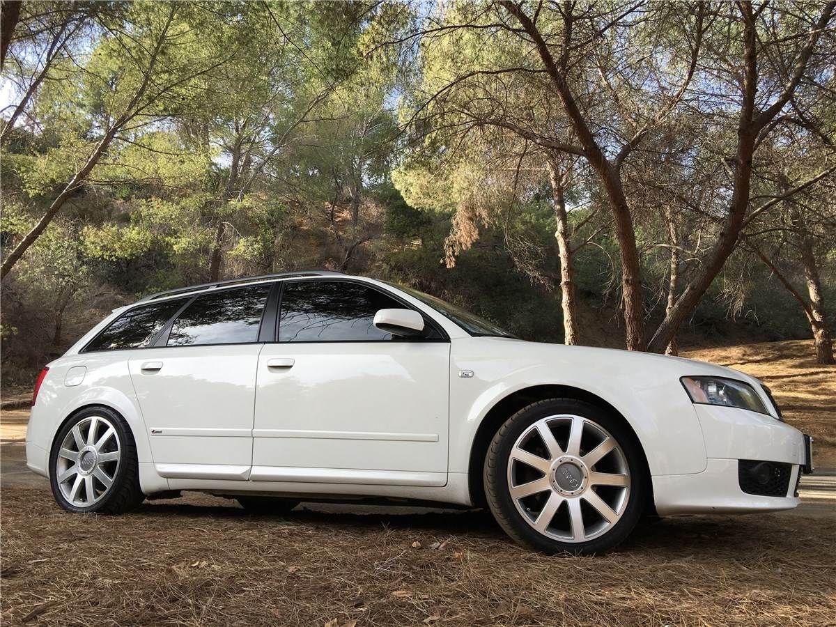 2004 Audi A4 Avant Ultrasport 1 8t Quattro Manual 6sp Arctic White Audi A4 Avant Audi A4 Audi