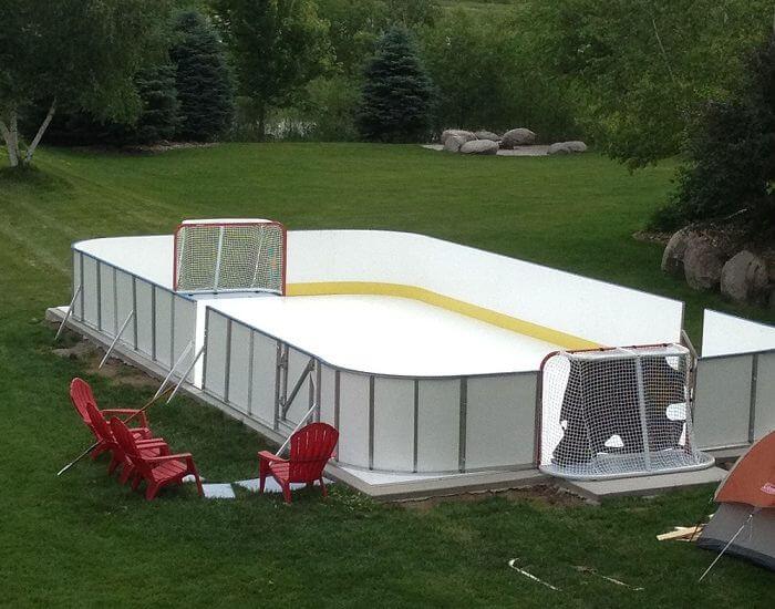 D1 Backyard Rinks | Backyard rink, Backyard, Lap pools ...
