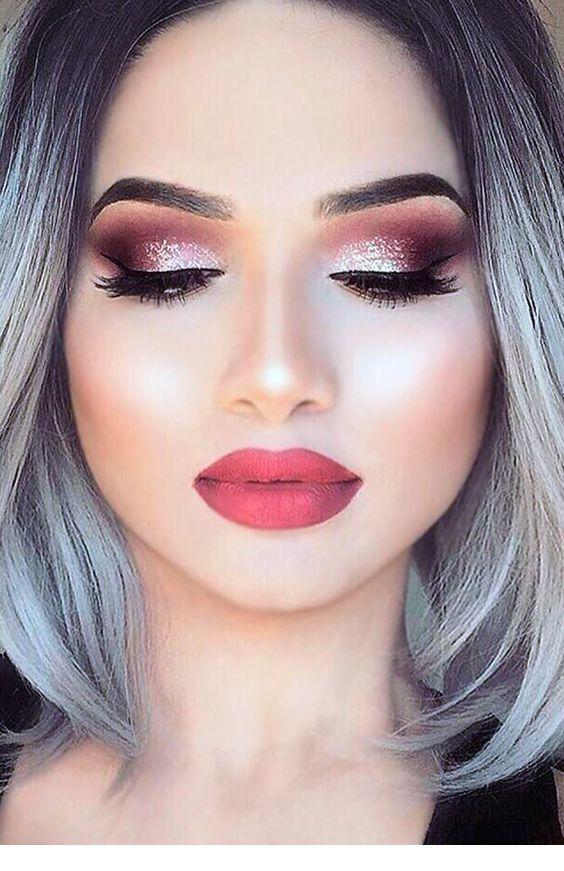 Wonderbaarlijk Gray hair makeup - Miladies.net - Make upideeën, Oogschaduw en Oog PD-53