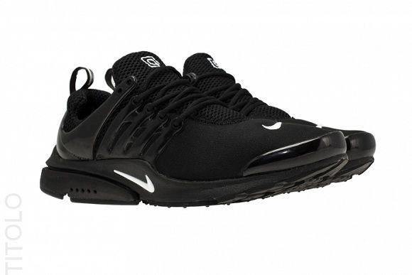 Nike Air Presto Black White Herren Mode Mode Herrin