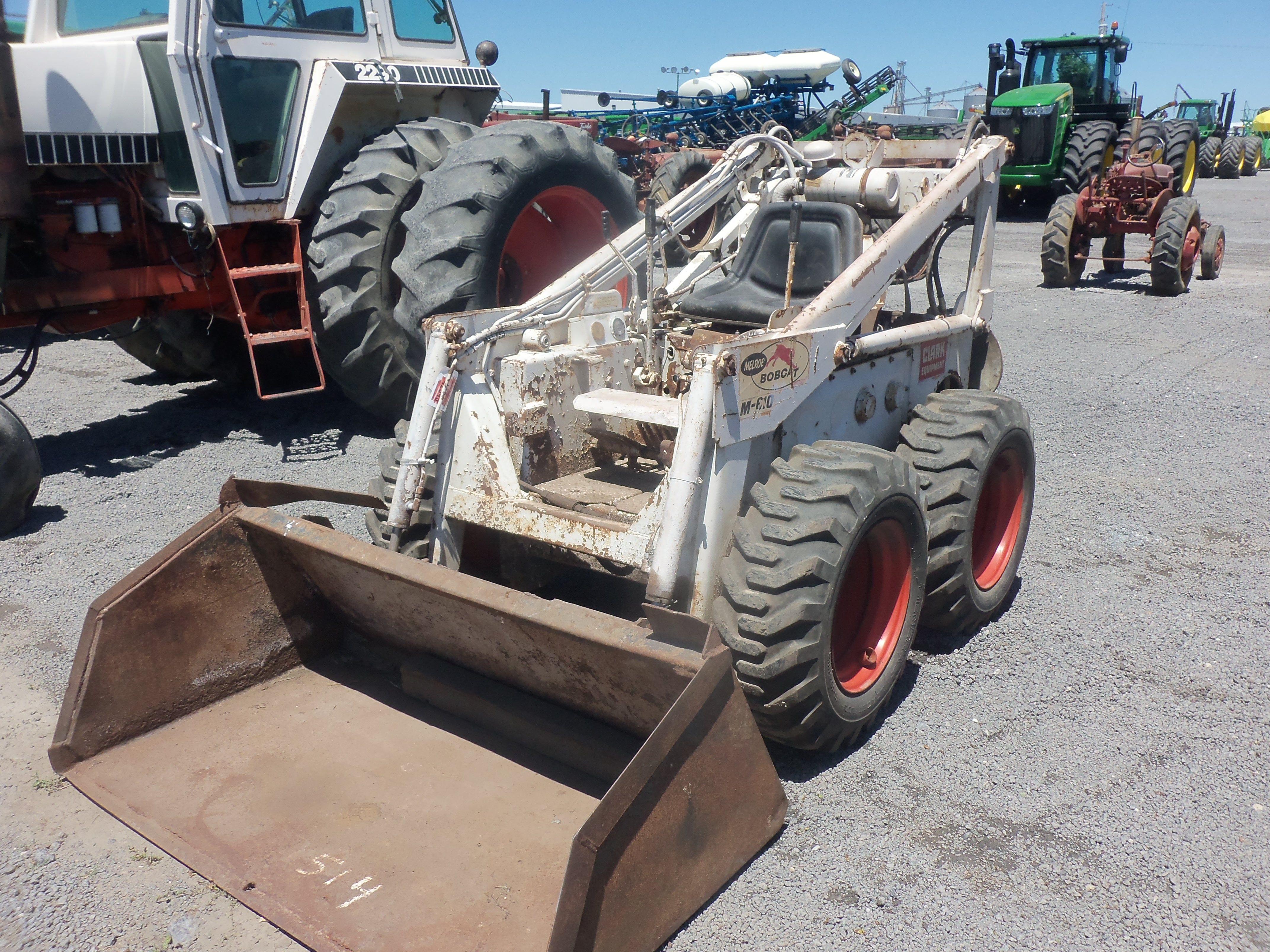 hight resolution of bobcat m610 skid steer loader