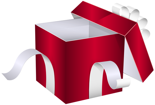 Open Gift Box Png