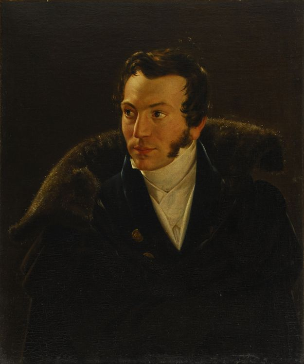 Lapchenko GI (1801-1876) Portrait of a Man. The second half of the 1820s-early 1830s.