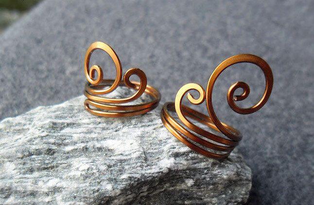 2 HENNA Ringe Kupferring - Jewelry Wire - kaufen 3 erhalten ...