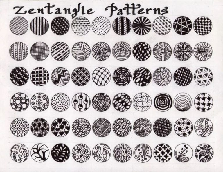 Zentangle Art Lesson For Middle School Kids Leah Newton Art In 2020 Zentangle Art Zentangle Art Lessons