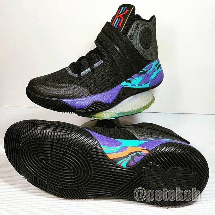 Nike Air Penny 2 Black Royal Size 8 Pre-Own Jordan Lebron Kyrie