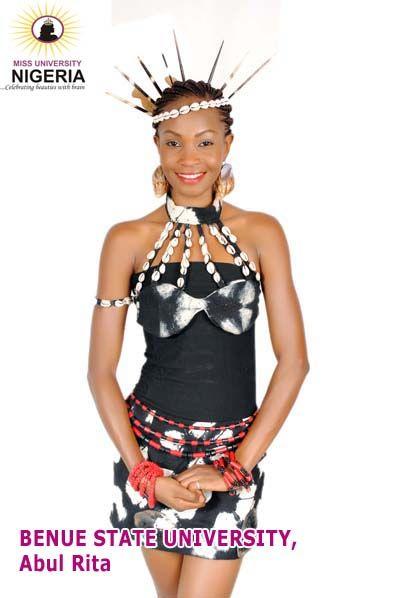 Benue Tiv Traditional Attire | ... Contestants - Traditional Attire (Pictures) - Fashion - Nigeria