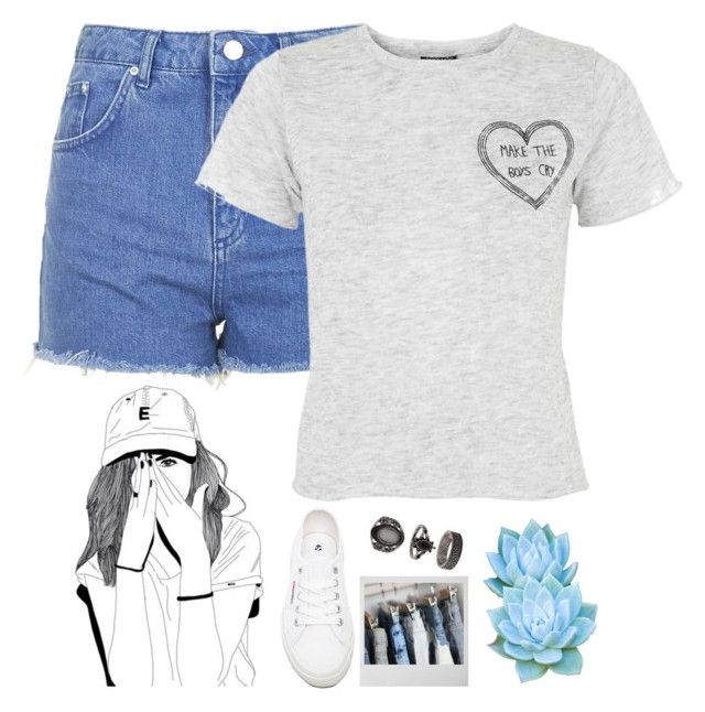"""""""Music To Make Boys Cry//Diana Vickers"""" by thelonelyheartsclub ❤ liked on Polyvore featuring Topshop and Superga"""