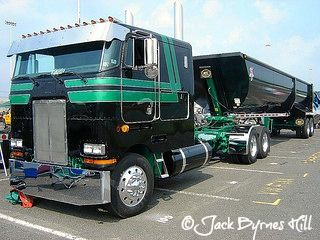 The Peterbilt Cabover Truck Photo Collection