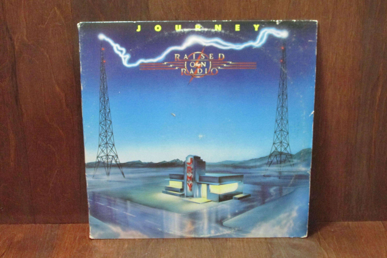 Journey Raised On Radio Vintage Vinyl Record Vinyl Records Music Vintage Vinyl Records Vinyl Music