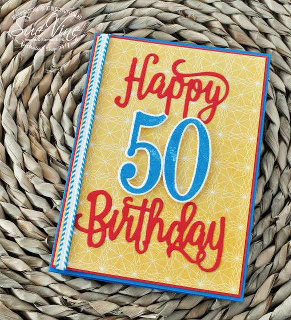 Birthday Memories for a special 50th Birthday cards