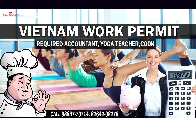 Urgent Job Requirement Vietnam Work Permit Required Accountant Yoga Teacher And Cook Salary 400 Us Dollars To 700 Us Dollars Proces Yoga Teacher Teacher Yoga