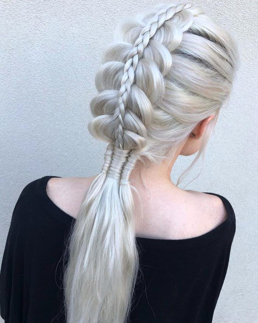 Pin On Plait Hairstyles