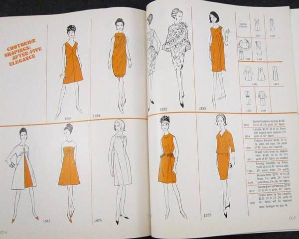 Vogue Pattern Book June - July 1966 - Click Image to Close | Vintage ...