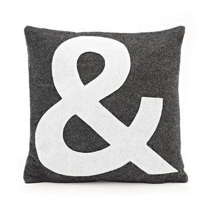 Felt Ampersand Pillow