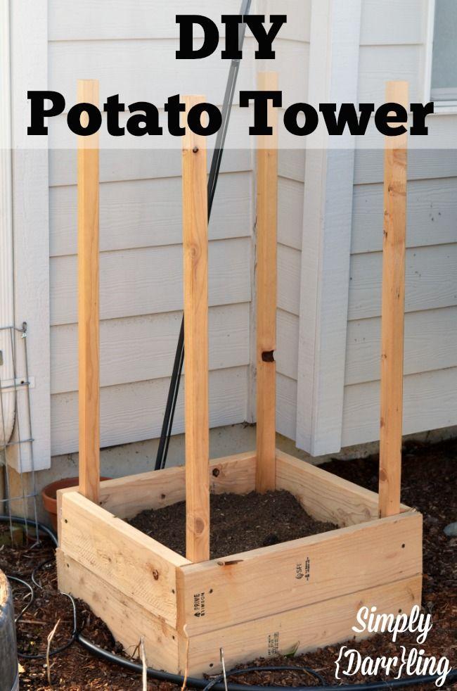 The Darr Garden 2014 Diy Potato Tower Building A 640 x 480