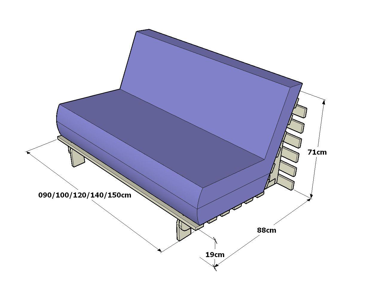 futon sof cama plegable la estructura del futon sof cama