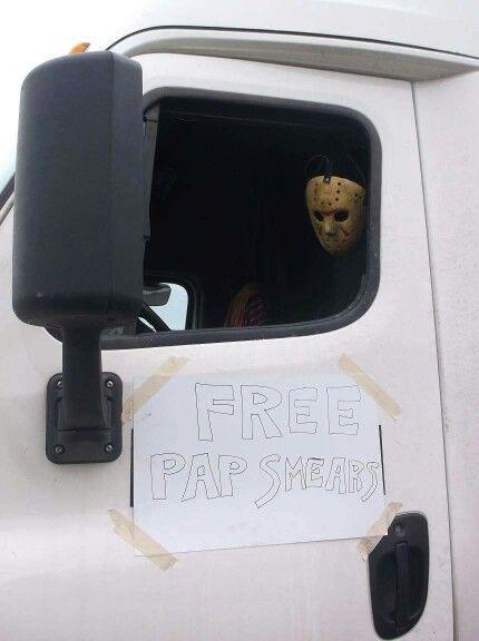 Halloween,  free pap smears.