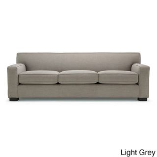 $1200 Cassandra Premium Linen Down Wrapped 90 Inch Sofa Dimensions: 90  Inches Long X 36 Inches Deep X 33 Inches High