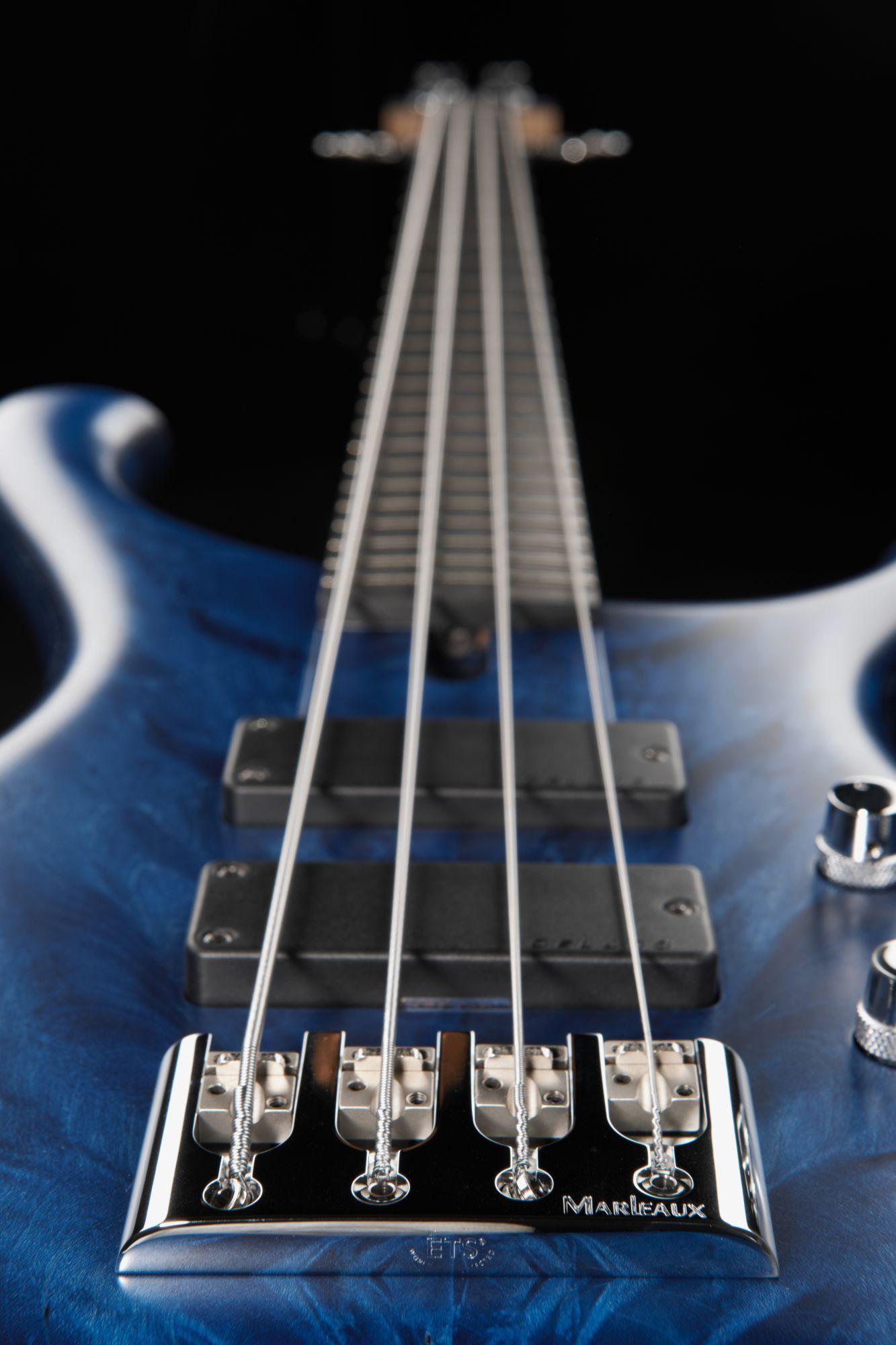 Marleaux Consat Custom 4 Curly Maple TB #marleaux #bass