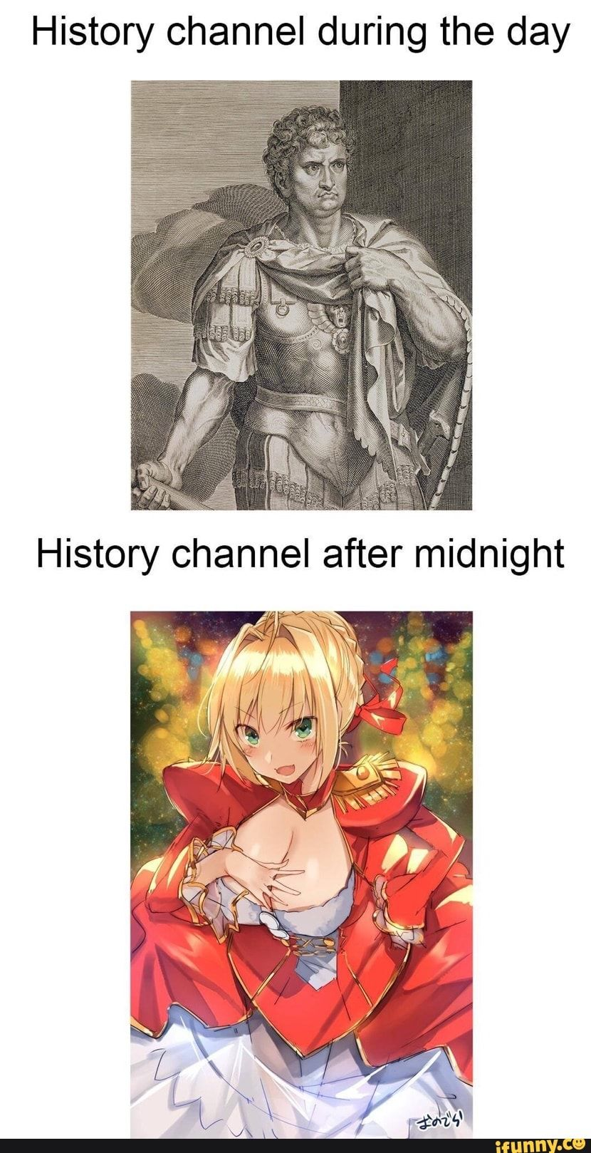History channel during the day iFunny ) Anime memes