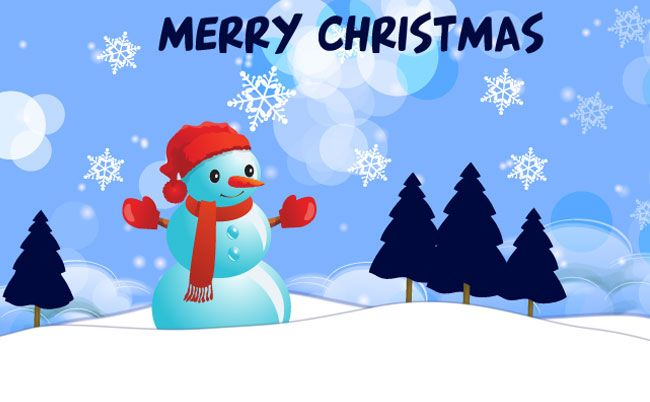 Free Christmas Tmplates  Christmas Card Template  This Vector Is