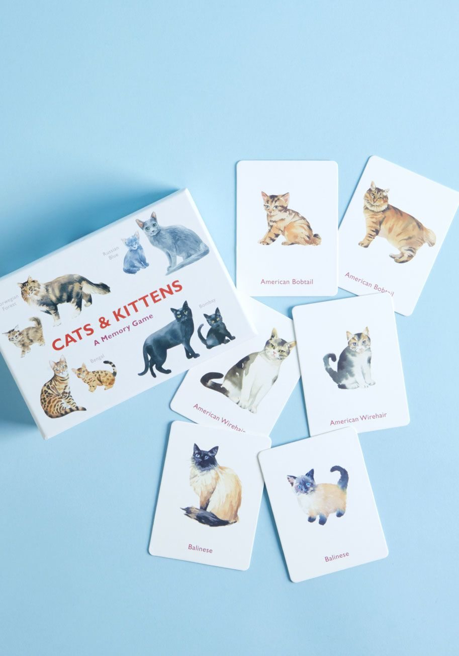 Cats Kittens A Memory Game Cats And Kittens American Bobtail Cat Kittens