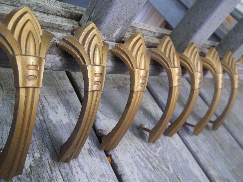Antique handles pulls art deco by
