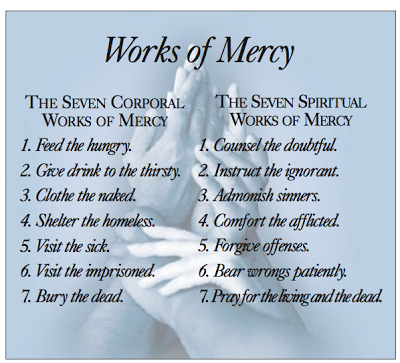 Corporal & Spiritual Works of Mercy: Prayer Resources