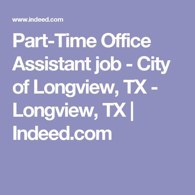 Part-Time Office Assistant Job