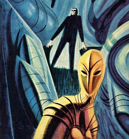 Jack Gaughan - Metropolis, 1963.