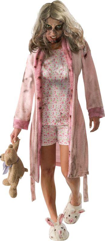 Ambiance zombie avec ce déguisement The Walking Dead femme