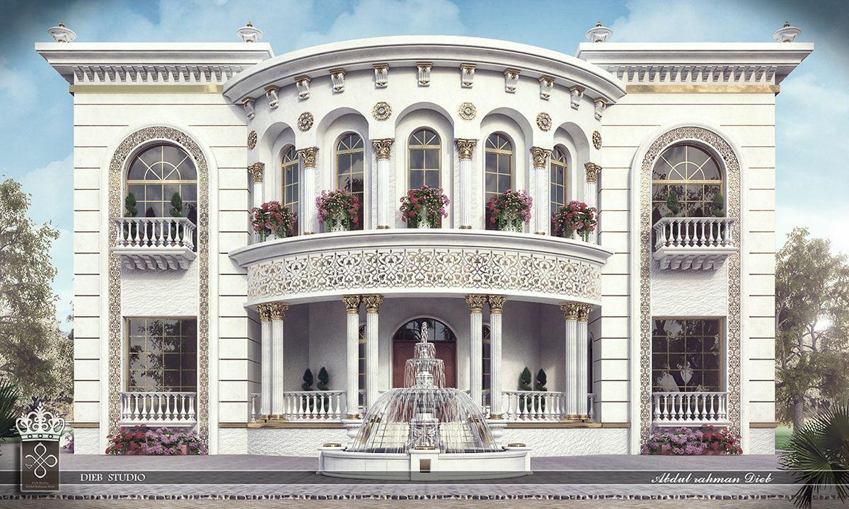 Princess Haya Villa Classic House Exterior Classic House Design House Exterior