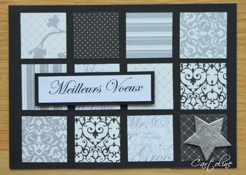 carte de voeux diy pinterest carte de voeux cartes. Black Bedroom Furniture Sets. Home Design Ideas