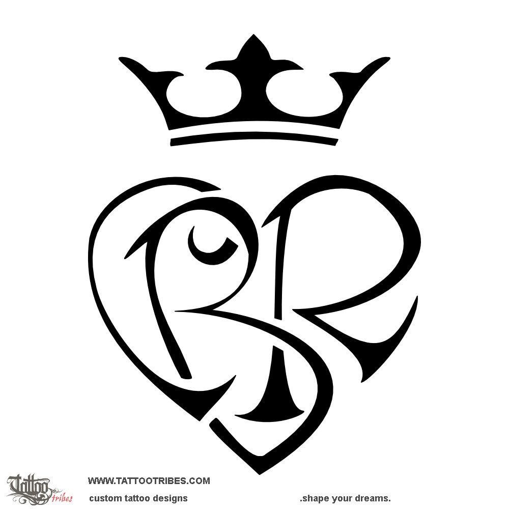 Tatuaggio Di Cuore C B R Legame Tattoo Custom Tattoo Designs On Tattootribes Com With Images Monogram Tattoo Tattoos Letter B Tattoo