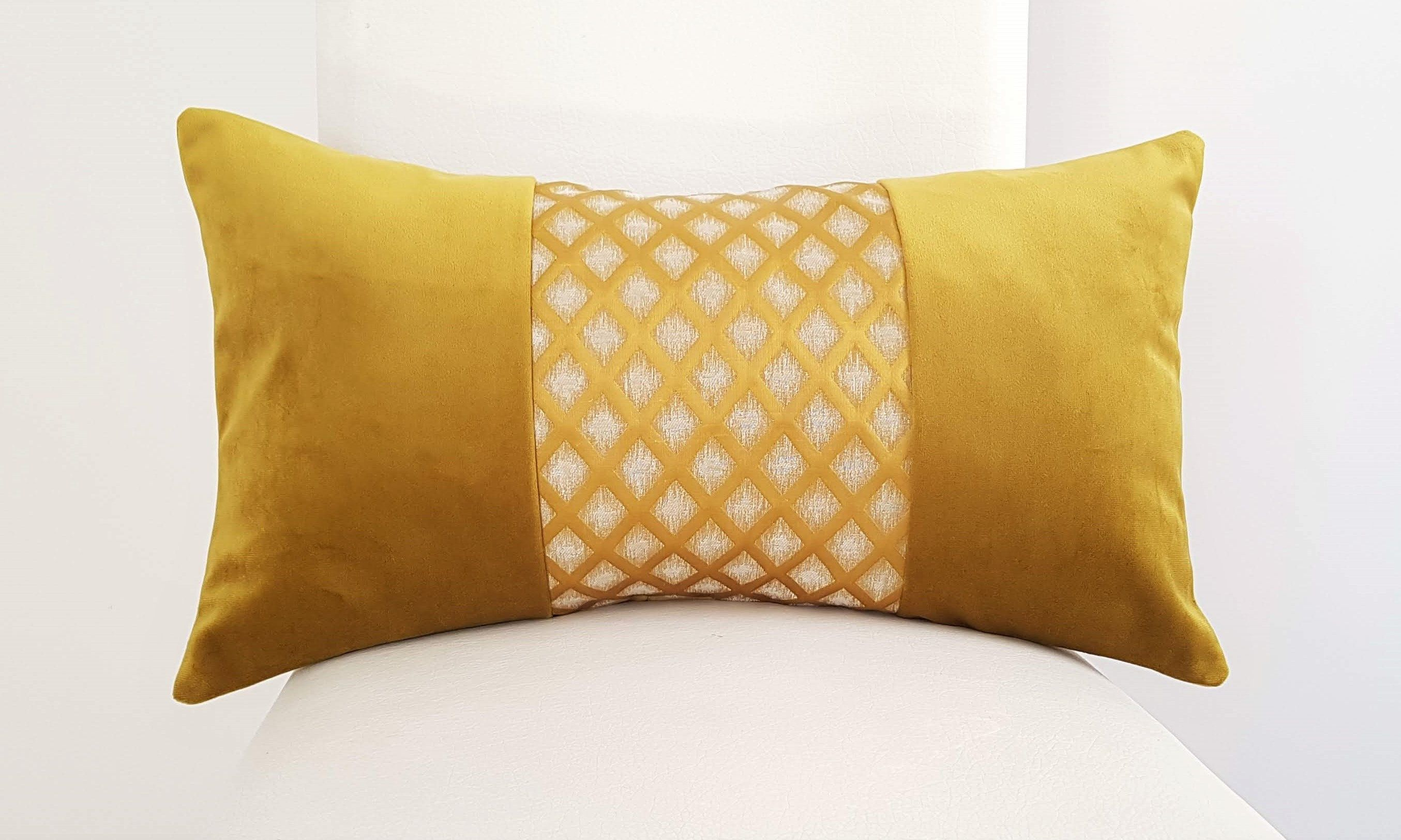 Etsy Shop Yellow Pillow Covers Luxury Yellow Gold Designer