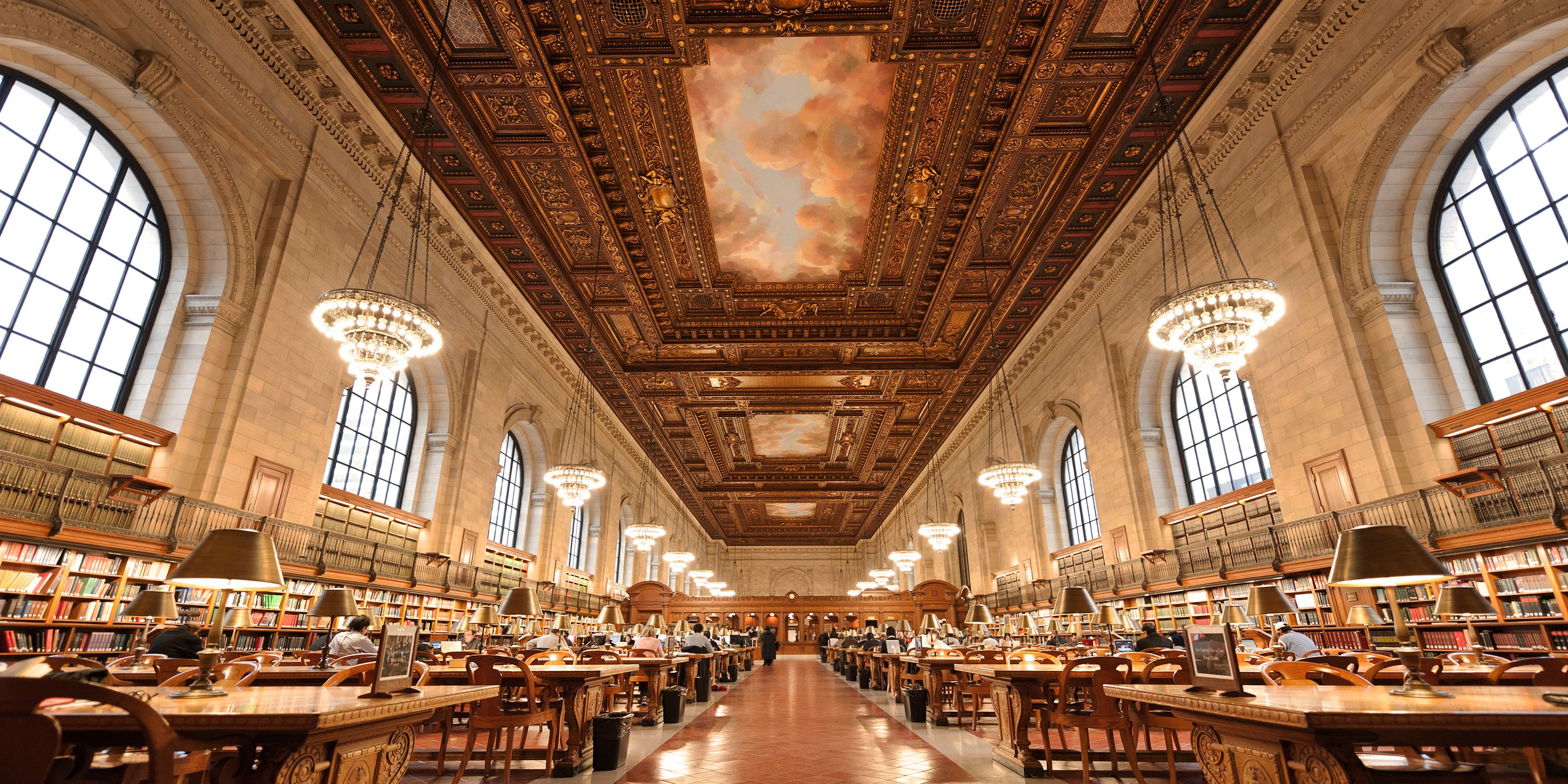 Rose Main Reading Room New York Public Library