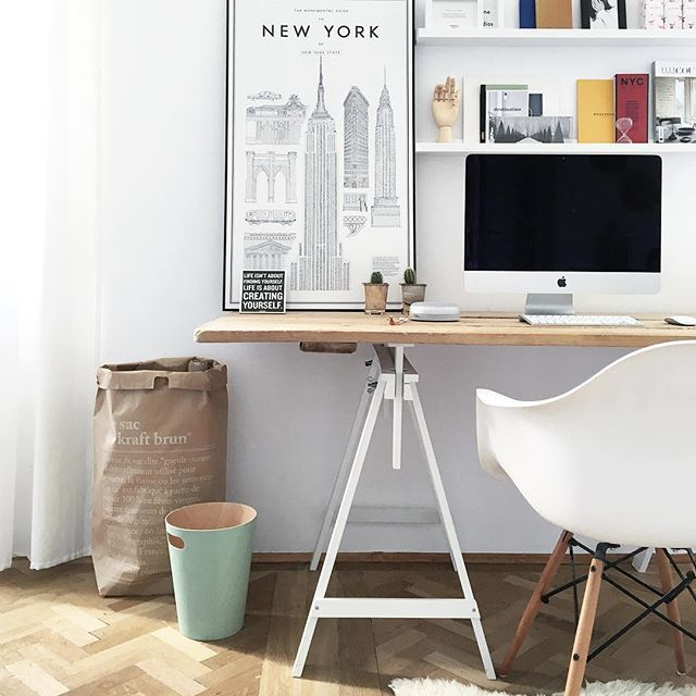 50 Splendid Scandinavian Home Office And Workspace Designs: On The Creative Market Blog