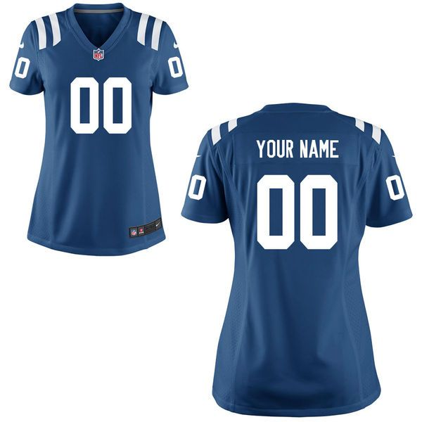 Indianapolis Colts Nike Women s Custom Game Jersey - Royal Blue ... e0e690351