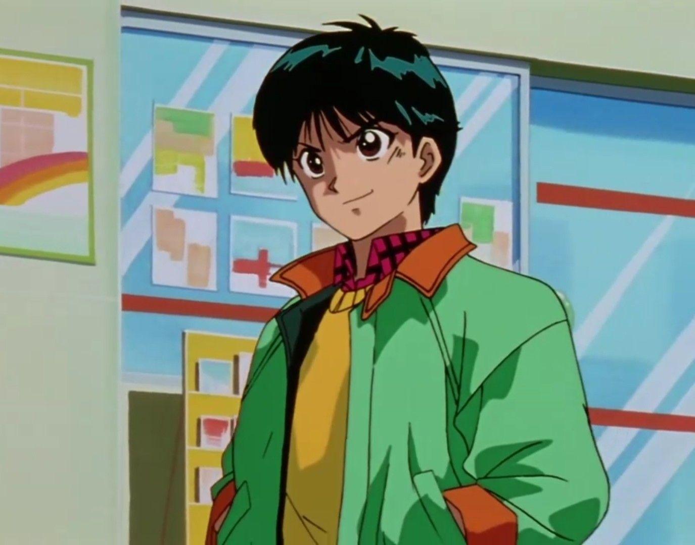 Urameshi Yusuke Aesthetic Anime 90s Anime Anime Screenshots