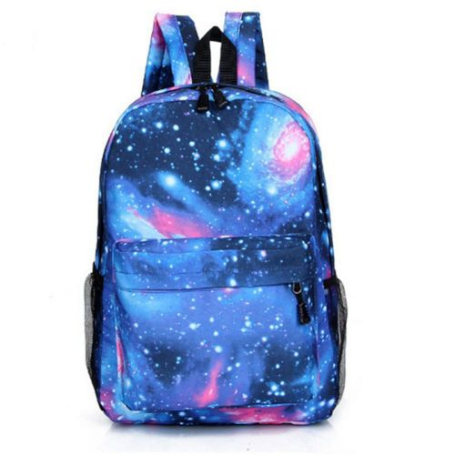 Details about Hot Sale Unisex Fashion Canvas Bag Teenager In School Book Campus Backpack