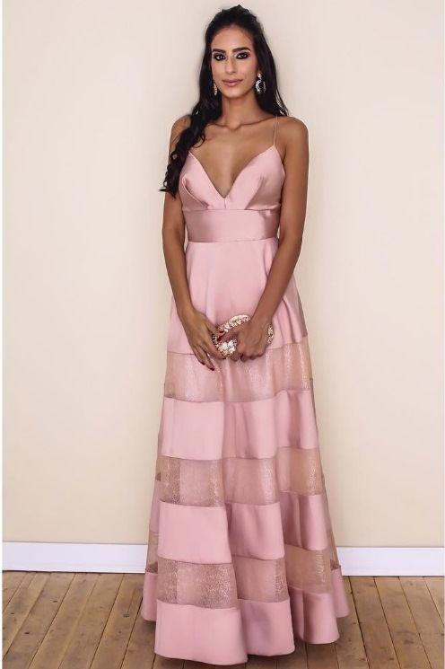 V Neck Trending Prom Dress | formal dresses! | Pinterest ...