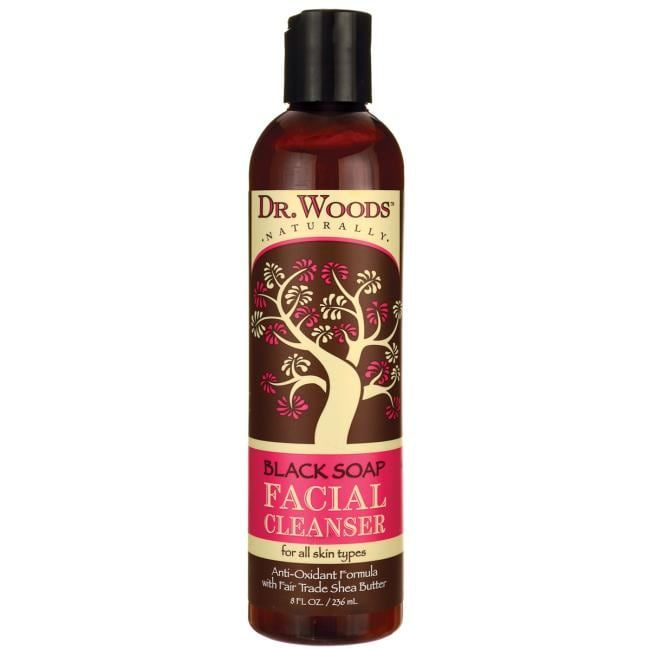 Photo of Dr. Woods Black Soap Facial Cleanser with Fair Trade Shea Bu…