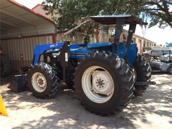 New Holland 7610s 1999 Tractors Tractors Used Tractors For