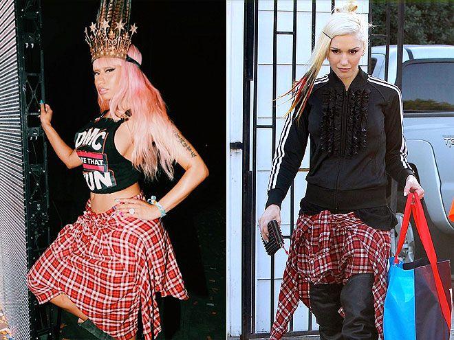 ¿A quién le quedan mejor este par de R13 Vedder shorts? ¿Nicki o Gwen?